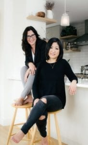 Laura Morris and Anjie Cho