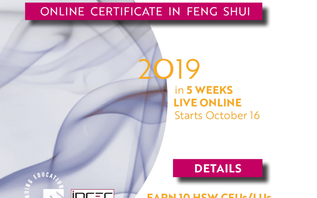 Online Certificate Course in Feng Shui