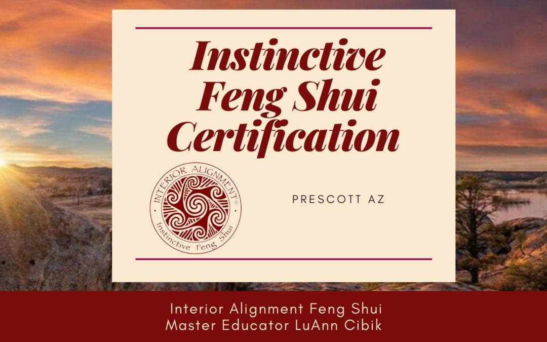 Interior Alignment Instinctive Feng Shui Certification  with LuAnn Cibik