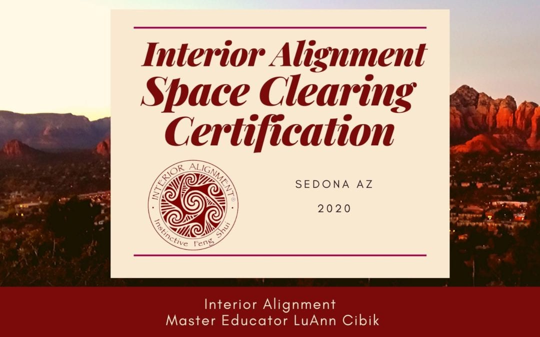 Interior Alignment Space Clearing Certification